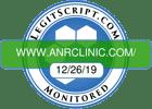 LEGITSCRIPT.COM www.ANRCLINIC.com